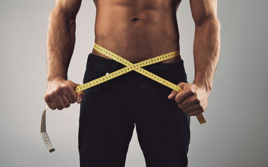 Man on weight loss journey because of exercise